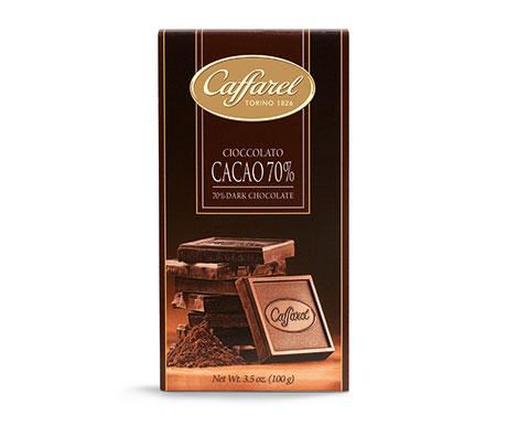 Barra de Chocolate com 70% de Cacau
