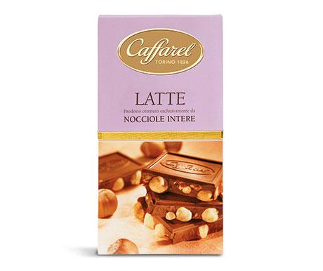Barra de Chocolate ao leite com Avelã Inteira