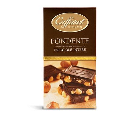 Barra de Chocolate amargo com Avelãs Inteiras