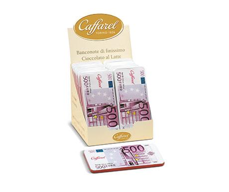 Barra de Chocolate ao leite – Notas Euro
