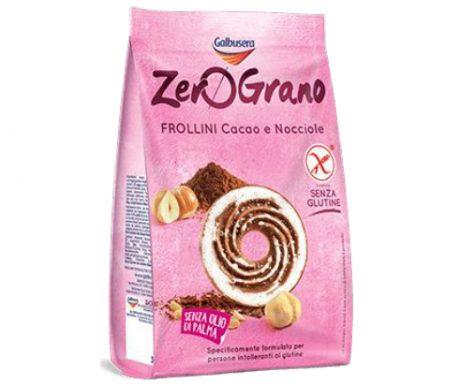 Zero Grano – Biscoito Sem Glutén Com Cacau e Avelã