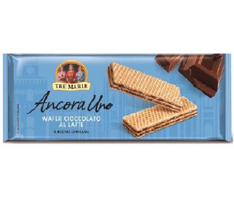 Ancora Uno – Wafer recheado com creme de chocolate ao leite