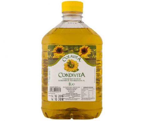 Composto de 80% de Oleo de Girassol 20 % de Azeite Virgem