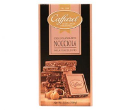 Barra de Chocolate ao Leite com Pedaços de Avelã