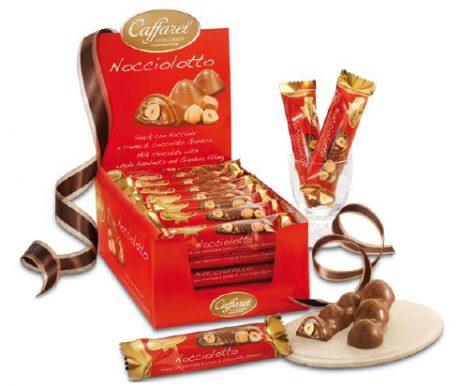 Bombom de Chocolate ao Leite com Avelã Inteira e Crème de Gianduia