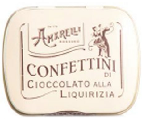 Confettini – Bala de Chocolate com Liquirizia