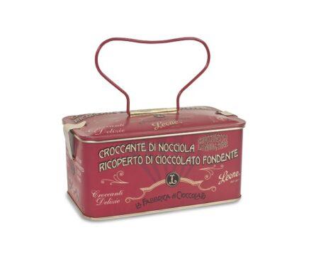 Bombons de avelã coberto com Chocolate Fondente