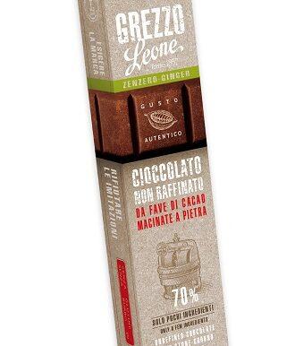 Barra de chocolate 70% cacao – Gengibre