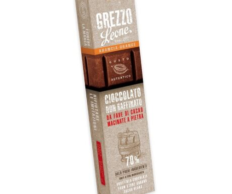 Barra de chocolate 70% cacao – Laranja