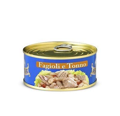 Salada de Atum e Fagioli