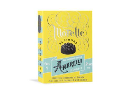 Morette Limone – Bala de Goma de Alcaçuz sabor Limão