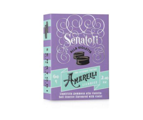Senatori –  Bala de Goma de alcaçuz e violeta