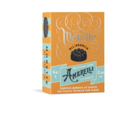 Morette Arancia –  Bala de Goma de Alcaçuz sabor laranja