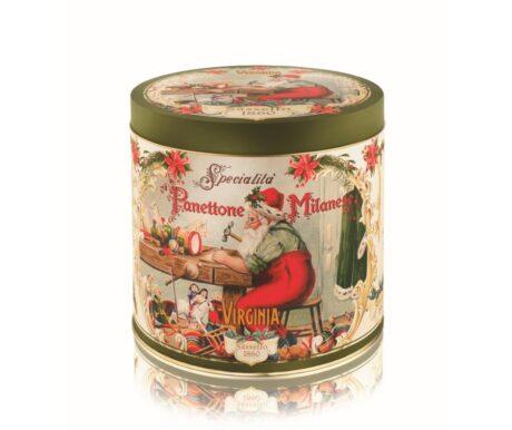 Panettone  Tradicional alto  lata