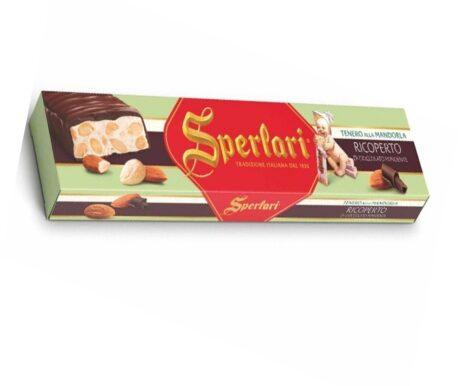 Torrone Classico de Amêndoa Coberto com Chocolate
